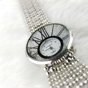 Strada Womens Silver Watch
